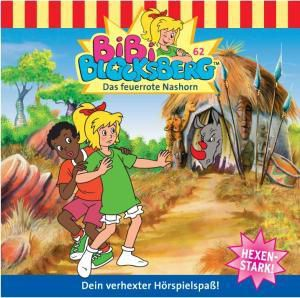 Bibi Blocksberg Band 62: Das feuerrote Nashorn (1 Audio-CD), Bibi Blocksberg