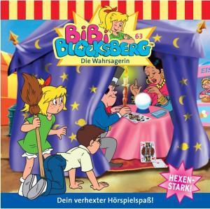 Bibi Blocksberg Band 63: Die Wahrsagerin (1 Audio-CD), Bibi Blocksberg