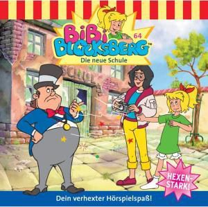 Bibi Blocksberg Band 64: Die neue Schule (1 Audio-CD), Bibi Blocksberg