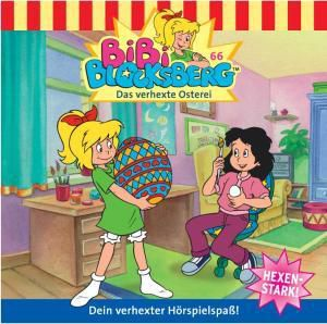 Bibi Blocksberg Band 66: Das Verhexte Osterei (1 Audio-CD), Bibi Blocksberg