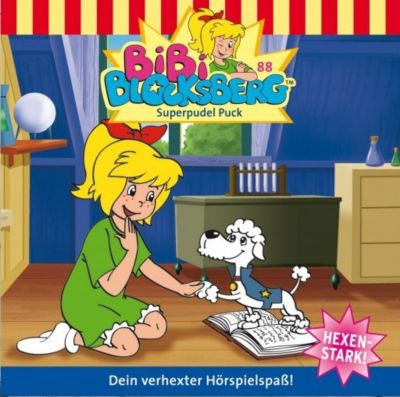 Bibi Blocksberg Band 88: Superpudel Puck (1 Audio-CD), Bibi Blocksberg