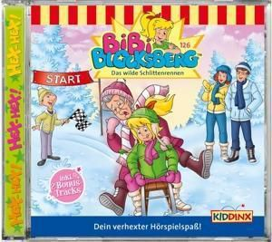 Bibi Blocksberg - Das wilde Schlittenrenen, Audio-CD, Bibi Blocksberg