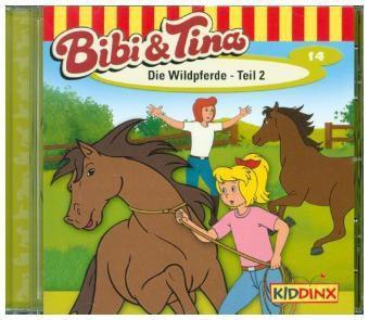 Bibi & Tina Band 14: Die Wildpferde Teil 2 (1 Audio-CD), Bibi & Tina