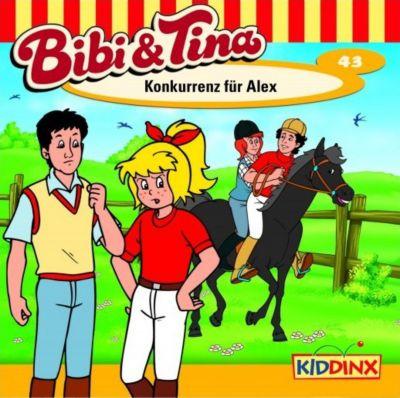 Bibi & Tina Band 43: Konkurrenz für Alex (1 Audio-CD), Bibi Und Tina