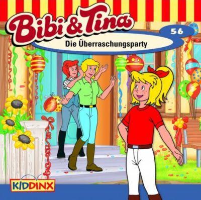 Bibi & Tina Band 56: Die Überrraschungsparty (1 Audio-CD), Bibi & Tina