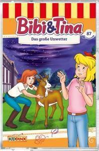 Bibi & Tina - Das große Unwetter, 1 Cassette, Bibi & Tina