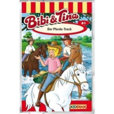Bibi & Tina - Der Pferde-Treck, 1 Cassette, Bibi Und Tina