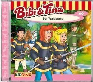 Bibi & Tina - Der Waldbrand, Audio-CD, Bibi und Tina