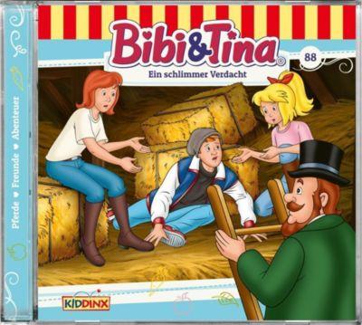 Bibi & Tina - Ein schlimmer Verdacht, 1 Audio-CD, Bibi & Tina