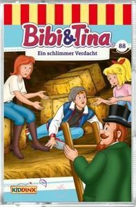 Bibi & Tina - Ein schlimmer Verdacht, 1 Cassette, Bibi & Tina