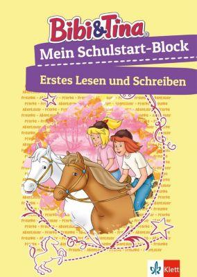 Bibi & Tina Mein Schulstart-Block - Erstes Lesen und Schreiben