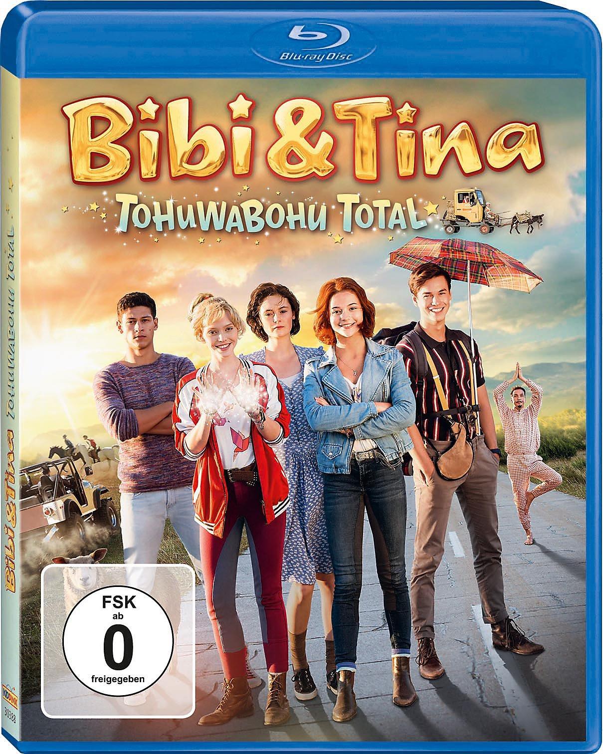 bibi und tina 4 tohuwabohu total bluray bei weltbildde
