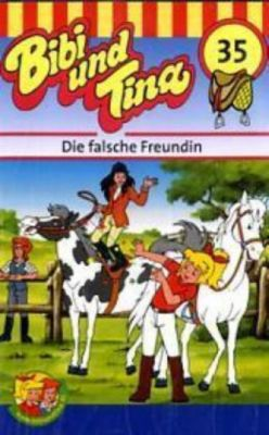 Bibi und Tina, Cassetten: Nr.35 Die falsche Freundin, 1 Cassette, Bibi & Tina