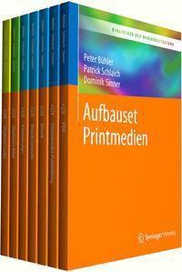 Bibliothek der Mediengestaltung - Aufbauset Printmedien, 7 Bde.