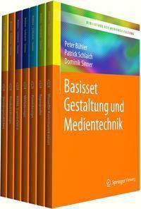 Bibliothek der Mediengestaltung - Basisset Gestaltung und Medientechnik, 7 Bde.