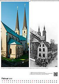 Bielefelder Fotomotive heute und damals mit historischen Ereignissen (Wandkalender 2019 DIN A2 hoch) - Produktdetailbild 2