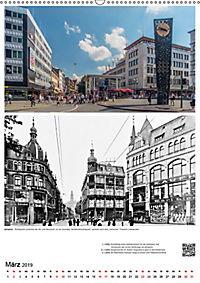 Bielefelder Fotomotive heute und damals mit historischen Ereignissen (Wandkalender 2019 DIN A2 hoch) - Produktdetailbild 3