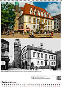 Bielefelder Fotomotive heute und damals mit historischen Ereignissen (Wandkalender 2019 DIN A2 hoch) - Produktdetailbild 9