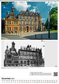 Bielefelder Fotomotive heute und damals mit historischen Ereignissen (Wandkalender 2019 DIN A2 hoch) - Produktdetailbild 11