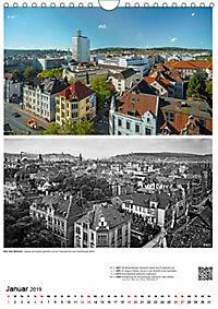 Bielefelder Fotomotive heute und damals mit historischen Ereignissen (Wandkalender 2019 DIN A4 hoch) - Produktdetailbild 1
