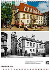 Bielefelder Fotomotive heute und damals mit historischen Ereignissen (Wandkalender 2019 DIN A4 hoch) - Produktdetailbild 9