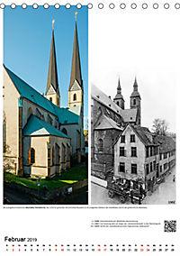 Bielefelder Fotomotive heute und damals mit historischen Ereignissen (Tischkalender 2019 DIN A5 hoch) - Produktdetailbild 2