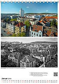 Bielefelder Fotomotive heute und damals mit historischen Ereignissen (Tischkalender 2019 DIN A5 hoch) - Produktdetailbild 1
