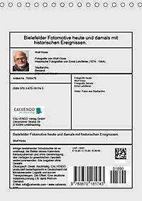Bielefelder Fotomotive heute und damals mit historischen Ereignissen (Tischkalender 2019 DIN A5 hoch) - Produktdetailbild 13