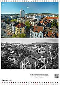 Bielefelder Fotomotive heute und damals mit historischen Ereignissen (Wandkalender 2019 DIN A3 hoch) - Produktdetailbild 1