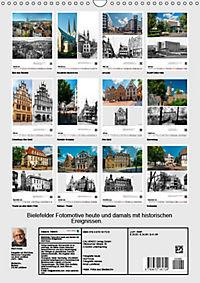 Bielefelder Fotomotive heute und damals mit historischen Ereignissen (Wandkalender 2019 DIN A3 hoch) - Produktdetailbild 13