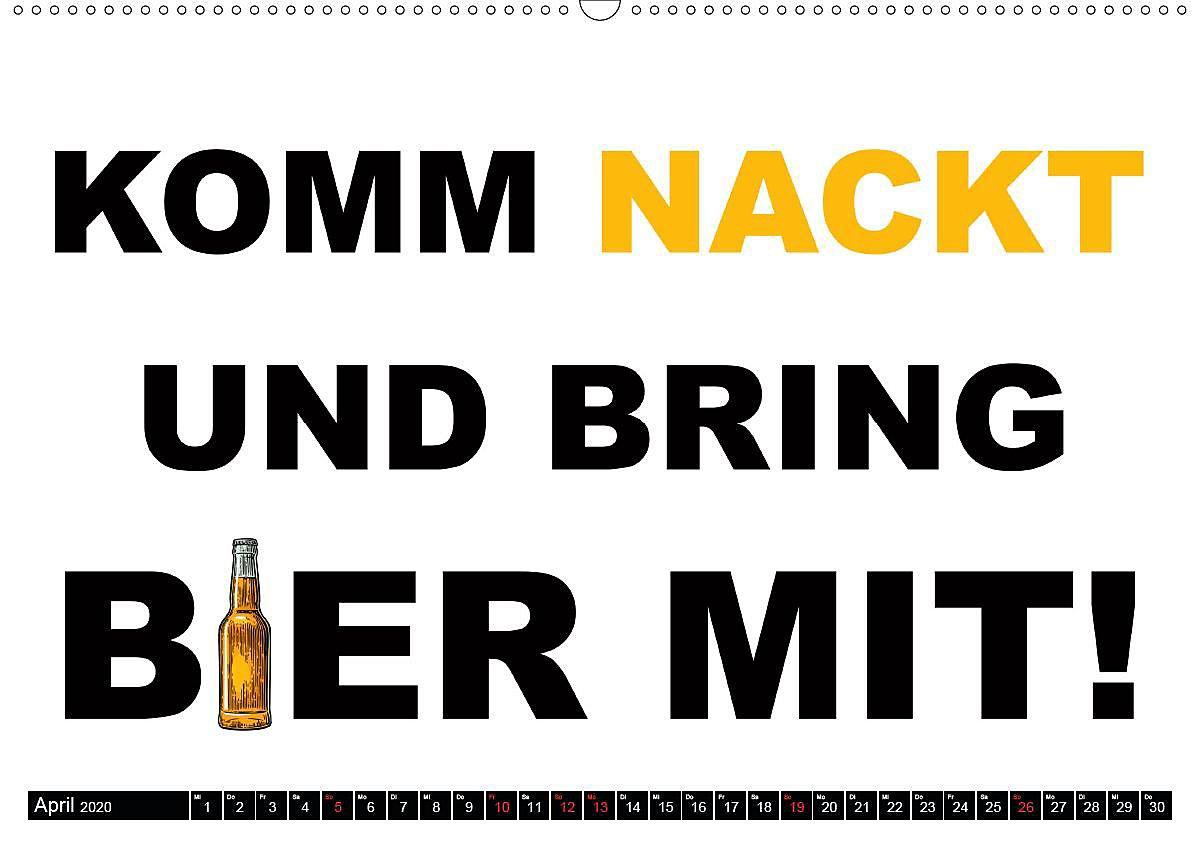 Bier - Lustige Sprüche und Grafiken Wandkalender 2020 DIN ...