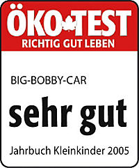 BIG - Bobby Car Classic, rot, Rutschauto - Produktdetailbild 4