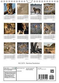 BIG CATS - Namibias Raubkatzen (Wandkalender 2019 DIN A4 hoch) - Produktdetailbild 13