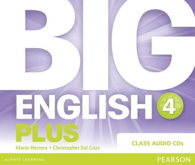 Big English Plus 4 Class CD, Mario Herrera, Christopher Sol Cruz