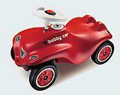 BIG New Bobby Car mit Flüsterrädern, Rutschauto