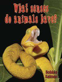 Big Science Ideas: What senses do animals have?, Bobbie Kalman