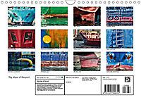 Big ships of the port (Wall Calendar 2019 DIN A4 Landscape) - Produktdetailbild 13