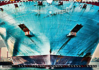 Big ships of the port (Wall Calendar 2019 DIN A4 Landscape) - Produktdetailbild 1