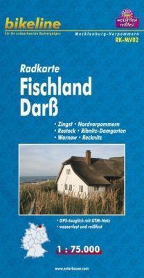 Bikeline Radkarte Fischland, Darss