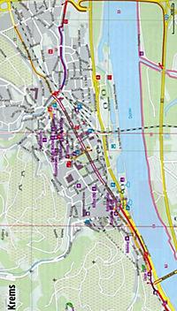 Bikeline Radtourenbuch Donau-Radweg - Produktdetailbild 1