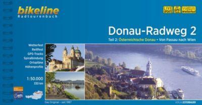 Bikeline Radtourenbuch Donau-Radweg