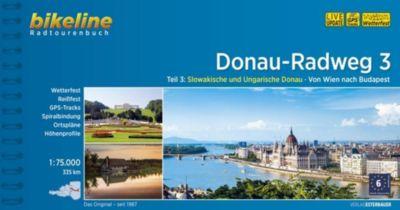 Bikeline Radtourenbuch Donau-Radweg -  pdf epub