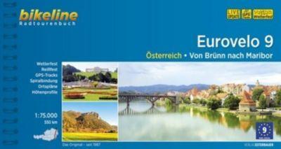 Bikeline Radtourenbuch Eurovelo 9