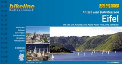 Bikeline Radtourenbuch Flüsse und Bahntrassen Eifel
