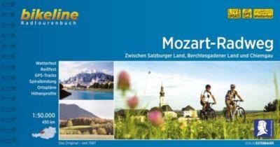 Bikeline Radtourenbuch Mozart-Radweg -  pdf epub
