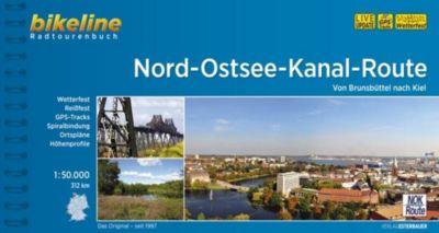 Bikeline Radtourenbuch Nord-Ostsee-Kanal-Route -  pdf epub