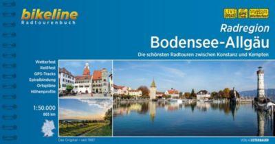 Bikeline Radtourenbuch Radregion Bodensee-Allgäu -  pdf epub