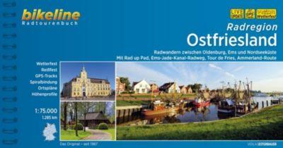 Bikeline Radtourenbuch Radregion Ostfriesland