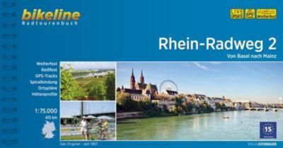 Bikeline Radtourenbuch Rhein-Radweg