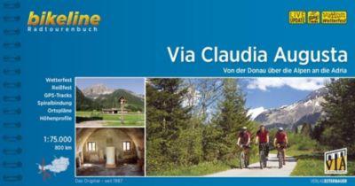Bikeline Radtourenbuch Via Claudia Augusta